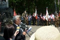 72. rocznica rozpoczęcia likwidacji OBOZU PRZESIEDLEŃCZEGO W Zwierzyńcu 16.08.2015