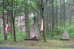 Obchody 69 rocznicy likwidacji przez polskie podziemie Obozu Zagłady dla żołnierzy AK w Błudku utworzonego przez NKWD i UB 04.05.2014