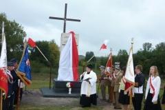 Uroczystość odsłonięcia i poświęcenia pomnika ku czci Ofiar Katastrofy Smoleńskiej Janki koło Hrubieszowa 21.09.2013