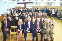 Uroczystość patrona szkoły w ZSP 3 w Zamościu 26.09.2016