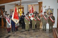 Uroczystości patriotyczne w Deszkowicach 08.04.2018 fot. Pan Roman Zegarlicki