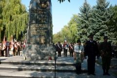 Uroczystości patriotyczno-religijne związane z 13. rocznicą ustanowienia przez Sejm RP 27 września Dniem Podziemnego Państwa Polskiego 27.09.2011