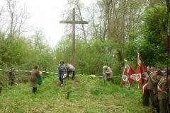 Uroczystości patriotyczno-religijne związane z 67. rocznicą wymordowania mieszkańców wsi Worochta przez UPA (Gmina Ulhówek) 02.05.2011