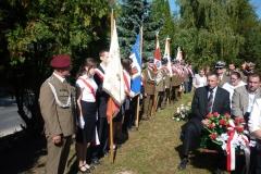 Uroczystości patriotyczno-religijne związane z 72. rocznicą Napaści Sowieckiej na Polskę, Grabowiec-Góra 25.09.2017