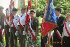 Zjazd Żołnierzy 9 p.p. Leg. Armii Krajowej Ziemi Zamojskiej 25.05.2014