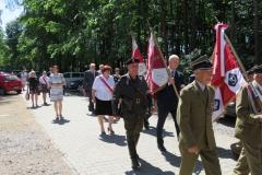 Zjazd Żołnierzy 9 P.P. Legionów Armii Krajowej Ziemi Zamojskiej, Zwierzyniec 27.05.2018