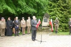 Zjazd Żołnierzy 9 pułku piechoty Legionów Armii Krajowej Ziemi Zamojskiej w Zwierzyńcu 29.05.2011