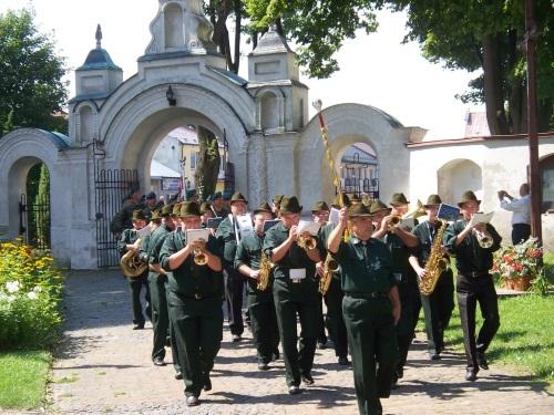 Uroczystość obchodów 70. rocznicy wkroczenia do Szczebrzeszyna Oddziału AK