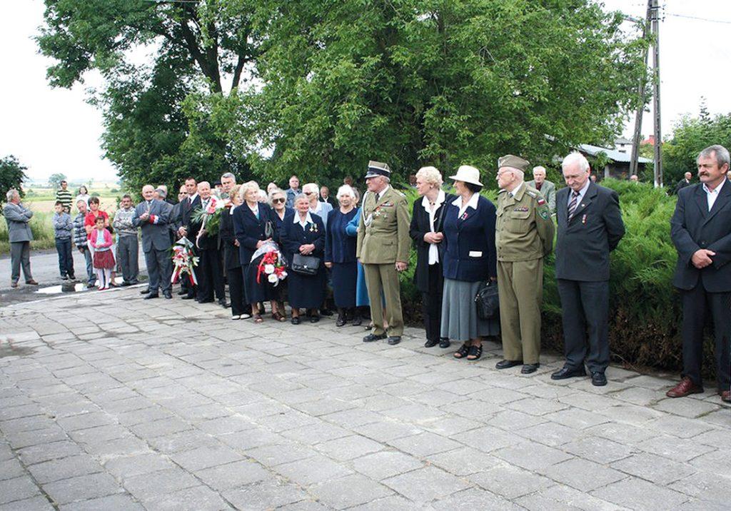 65 Rocznica Pacyfikacji Władysławina i Chłaniowa, fot. S. Zawiślak