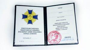 odznaka zasługi