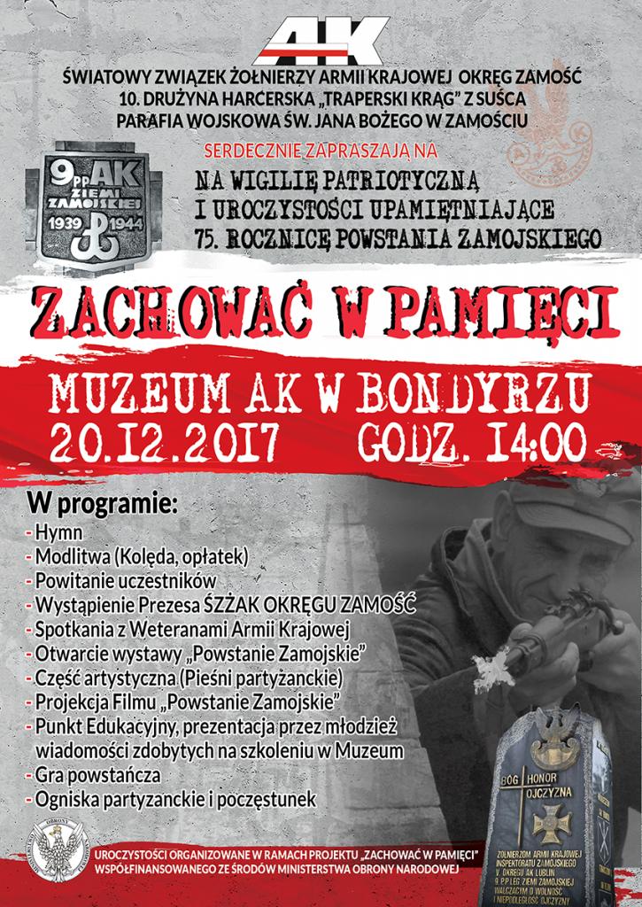 plakat wystawa bondyrz