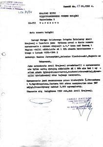 pismo śzżak do krajowego biura międzynarodowego numeru książki