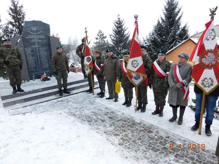 75. rocznica mordu dokonanego przez okupacyjne wojska niemieckie na żołnierzach Armii Krajowej i Batalionów Chłopskich – Hrubieszów, 6 stycznia <b>[RELACJA, ZDJĘCIA]</b>