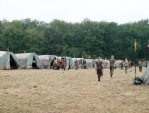 Bitwa pod Komarowem - przygotowania 25.08.2017