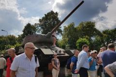 Międzynarodowa delegacja zwiedziła Muzeum Historyczne Inspektoratu Zamojskiego AK 13.07.2018