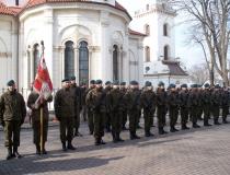 Narodowy Dzień Pamięci Żołnierzy Wyklętych w Zamościu 01.03.2014