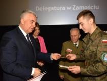 Obchody Narodowego Dnia Pamięci Żołnierzy Wyklętych w Zamościu 01.03.2017