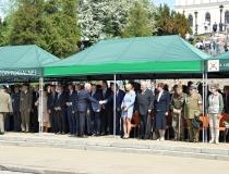 Przysięga żołnierzy II Lubelskiej Brygady Obrony Terytorialnej w Lublinie - plac przed Zamkiem Lubelskim 21.05.2017