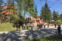 Uroczystość nadania imienia, barw oraz wręczenia sztandaru Jednostce Strzeleckiej 2020 Hrubieszów w miejscowości Tuczępy, 28.04.2018