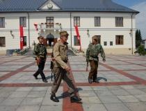 Uroczystości 73. rocznicy wejścia oddziału Podkowy do Szczebrzeszyna 23.07.2017