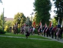 Uroczystości patriotyczno-religijne związane z obchodami 93. rocznicy bitwy pod Komarowem 1920r. 24.08.2013