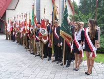 Zjazd Żołnierzy 9 Pułku Piechoty AK Ziemi Zamojskiej 26.05.2013