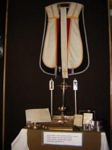 Ołtarz w muzeum Armii Krajowej Okręg Zamość, fot. S. Zawiślak