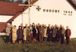 Osuchy 1993, fot. ze zbiorów I. Kulińskiej