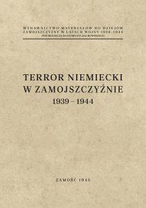 terror niemiecki w zamojszczyznie