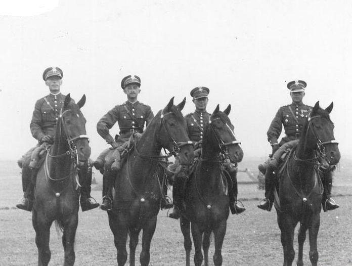 Suwałki 1935 Ekipa kawalerii KOP