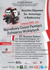 """67. Rocznica Śmierci płk. Mariana Pilarskiego ps. """"Jar"""" oraz kpt. Stanisława Biziora ps. """"Eam"""""""