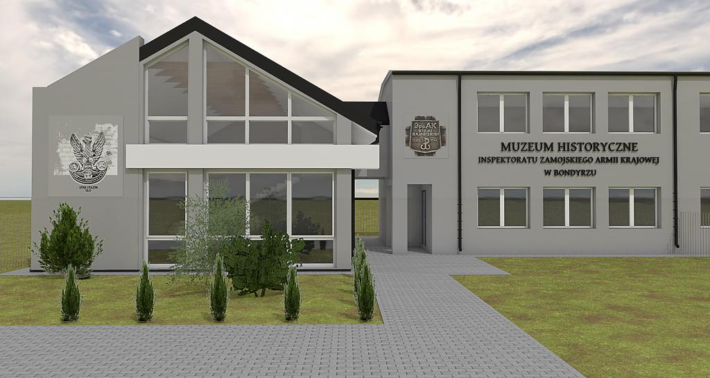 rozbudowa muzeum ak w bondyrzu