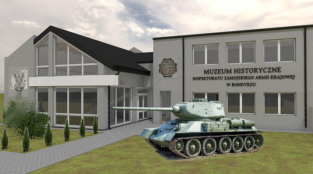 muzeum bondyrz rozbudowa