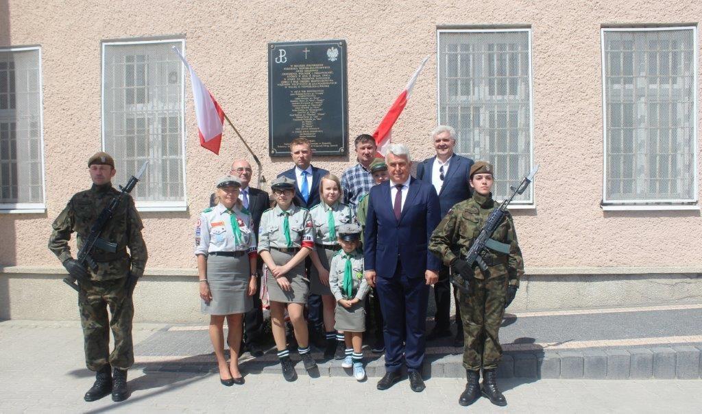 Uroczystości upamiętniające 73. Rocznicę odbicia  więźniów z komunistycznego więzienia w Zamościu <b>[RELACJA, ZDJĘCIA]</b>