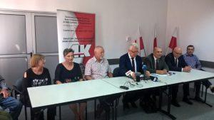 konferencja prasowa klukowscy zamosc