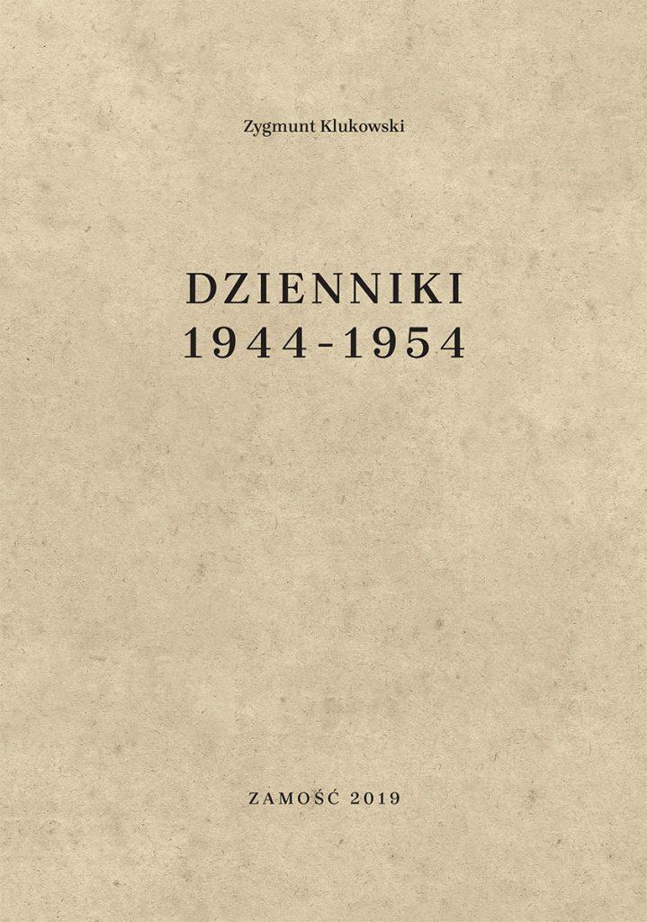 klukowskidzienniki 1944-1954 okladka.