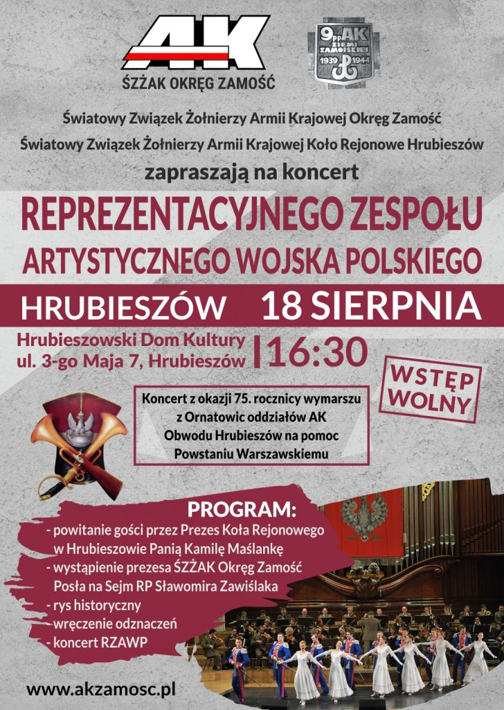 koncert rzawp hrubieszów 2019.