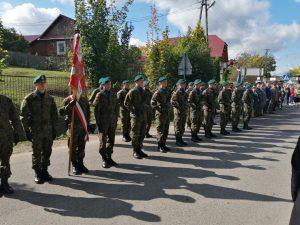Uroczystość upamiętniająca poległych i pomordowanych mieszkańców wsi Obrocz 2019.
