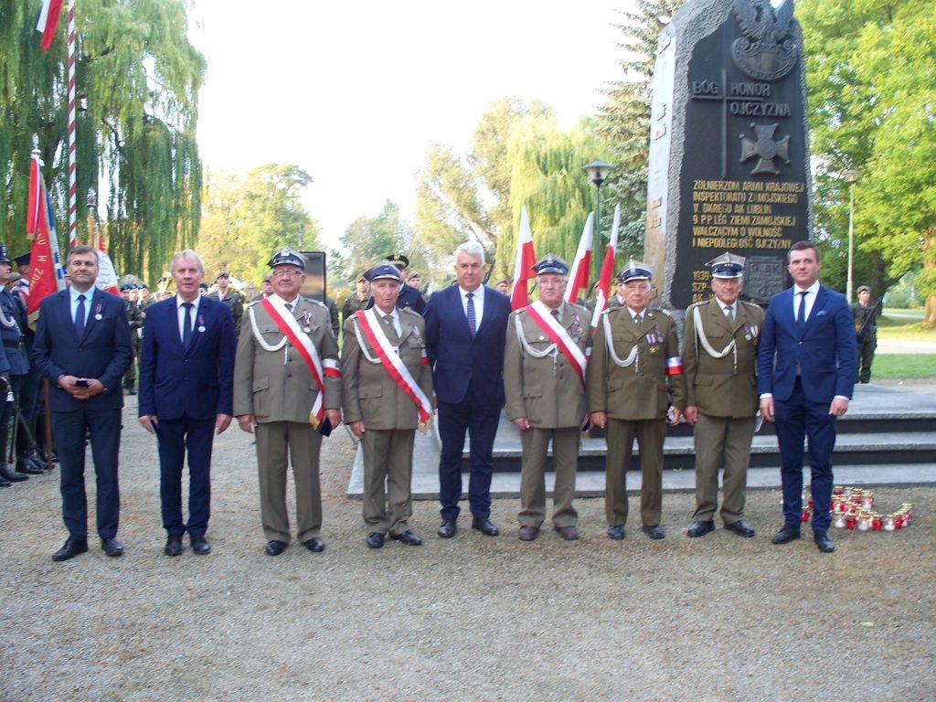 Obchody 80. rocznicy powstania Polskiego Państwa Podziemnego, 27.09.2019r. <b>[RELACJA, ZDJĘCIA]</b>